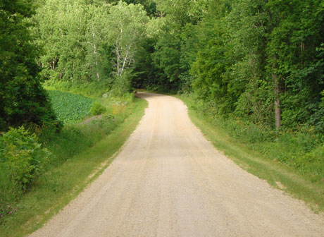 Town of Cady Country Road